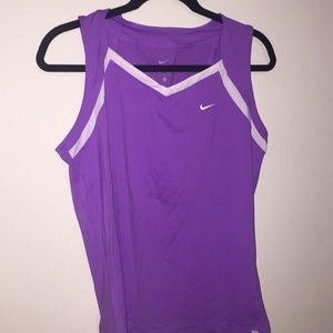 Nike dri fit athletic tank top
